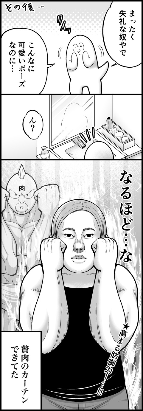 肉のカーテン②