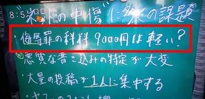 侮辱罪科料1,000円〜9,999円1