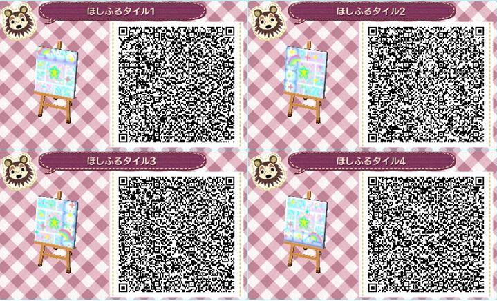 Acnl Flower Qr Codes Paths Newhairstylesformen2014 Com