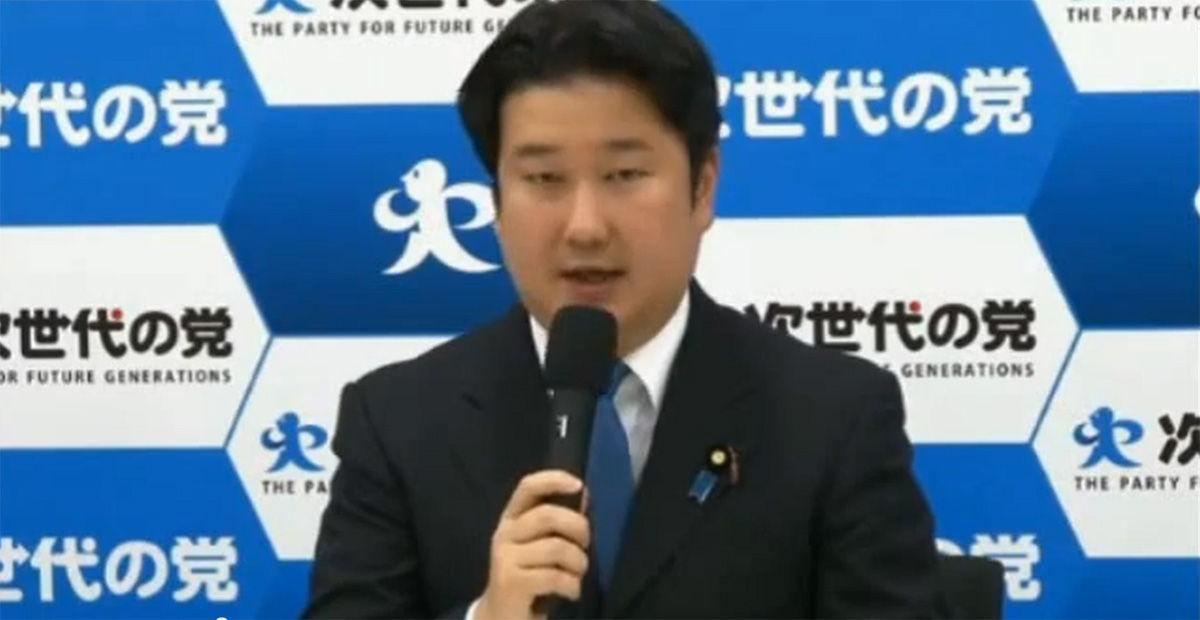 和田政宗さん、次世代の党の副幹...