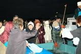魚祭りサバ買い