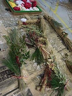 藁飾り作品