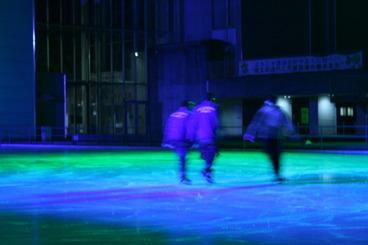 山国スケートリンク