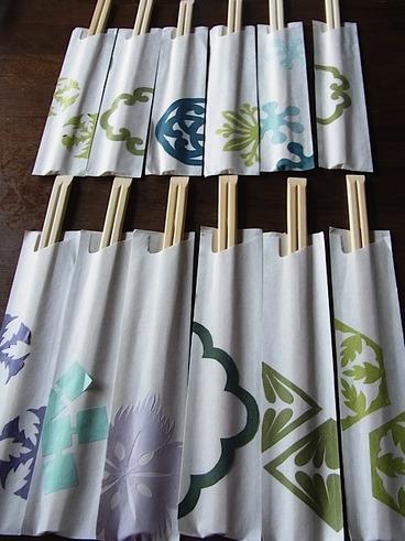 umidoki箸袋