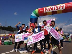 ハーフマラソン集合写真