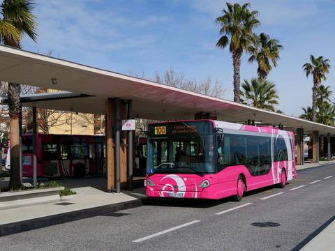 南仏アンティーブの路線バス