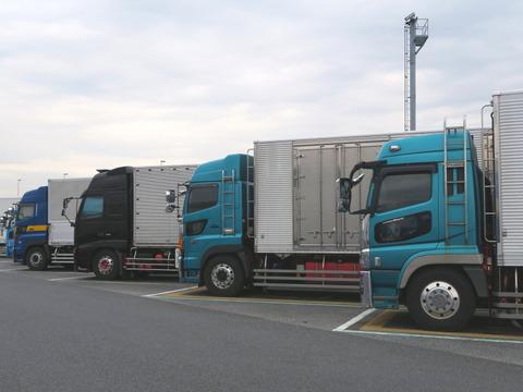 大型トラックb