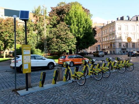 ヘルシンキ自転車シェア