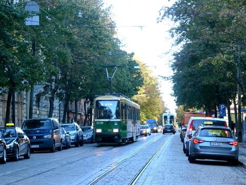 ヘルシンキのトラム
