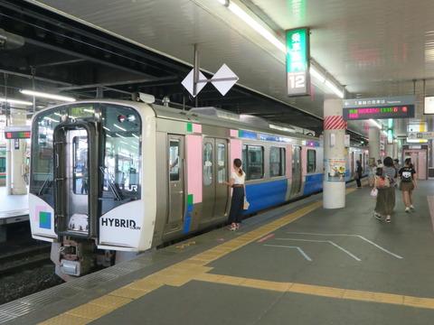 仙台駅停車中