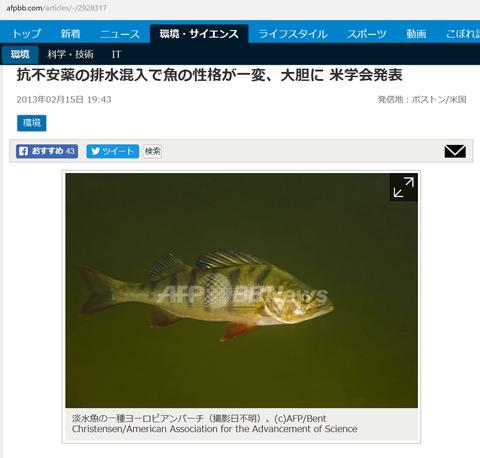 1魚の性格が変わる