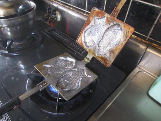 �家庭用たい焼き器