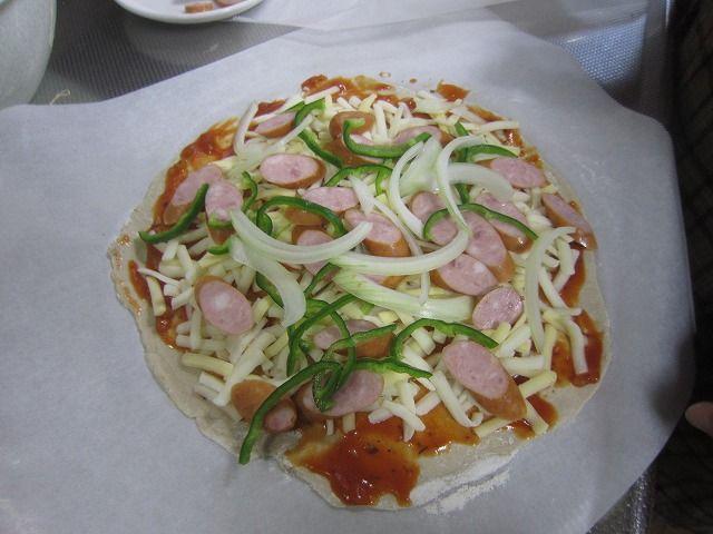 46第1号ピザ(チーズ、ウインナー、ピーマン、たまねぎ4点セット)