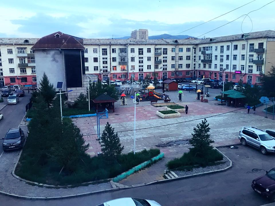 モンゴル ゲストハウス
