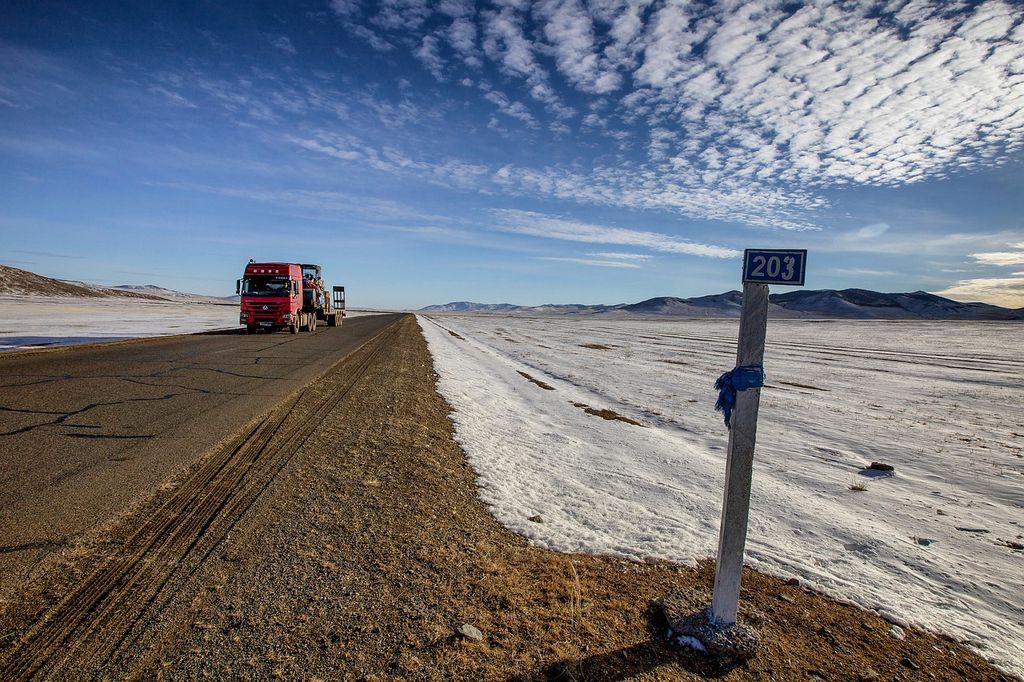 モンゴルの道