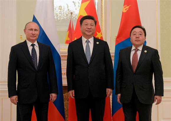 モンゴル ロシア
