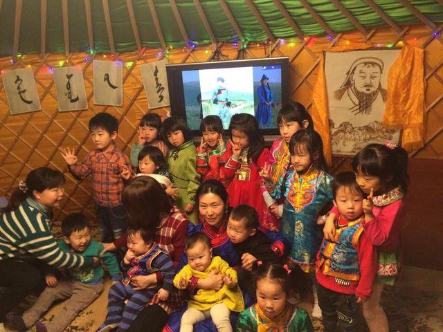 モンゴル語教室1
