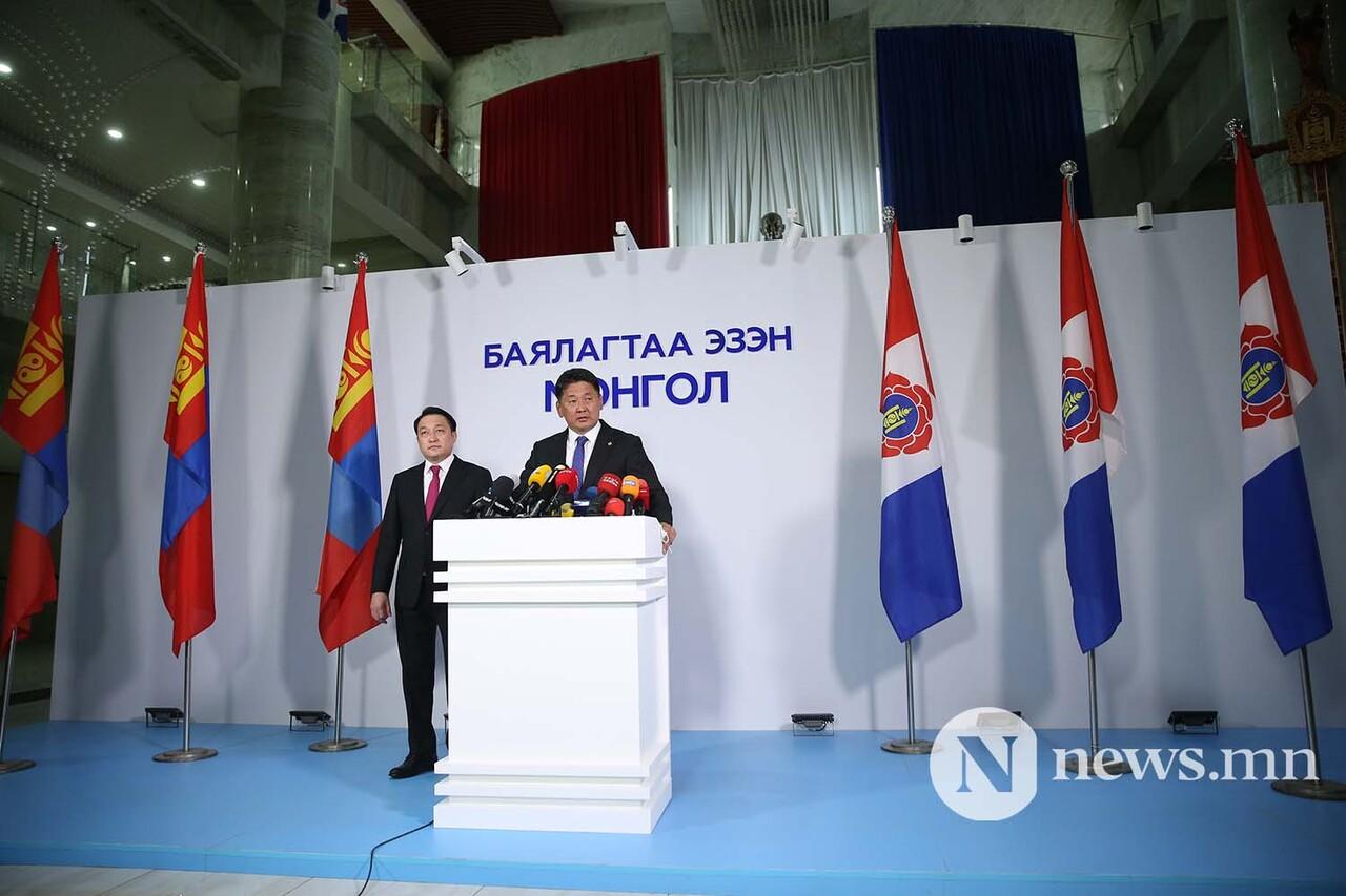 モンゴルのクレルスフ大統領