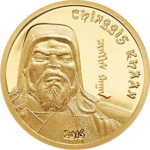 モンゴル金貨2016