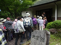 地質館入口