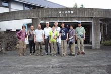 �佐川地質館前