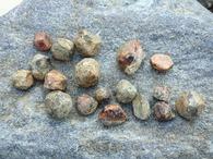 �ガーネットの原石