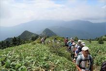 登山途中1