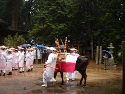住吉神社にて