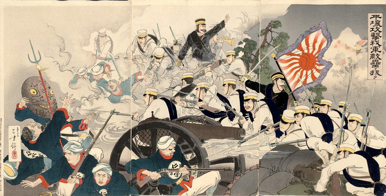 Battle_of_Pyongyang_by_Mizuno_To