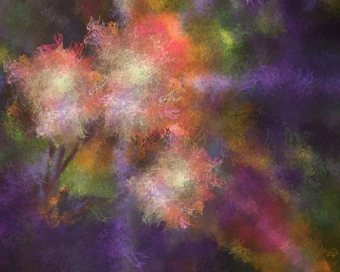 Painted Background 254