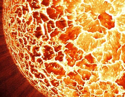 Planet explode