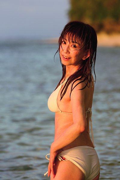 濡れる大場久美子