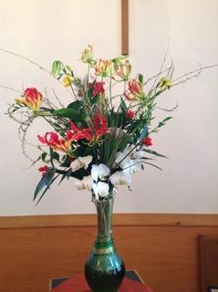 20180101元旦お花
