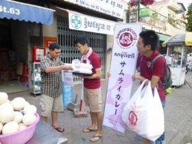 自分たちで考えて、自分たちで路上でカレーパンを売る!爆速で!
