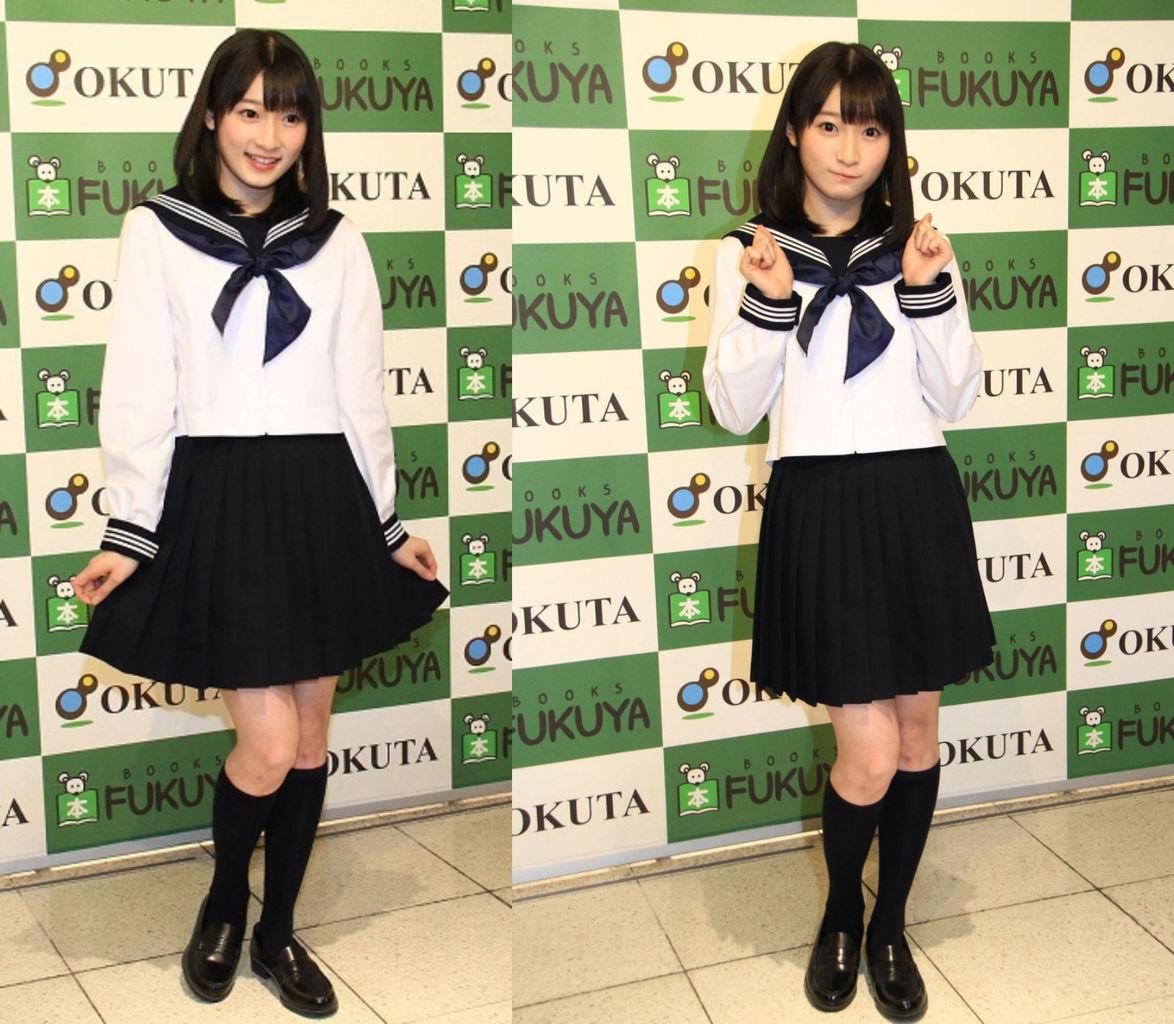 【エンタメ画像】《Juice=Juice》宮本佳林ちゃんさんのセーラ服姿が可愛すぎる