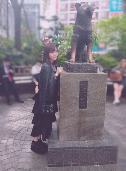 【エンタメ画像】【つばきファクトリー】新沼希空さん、服装が漆黒系の中2病