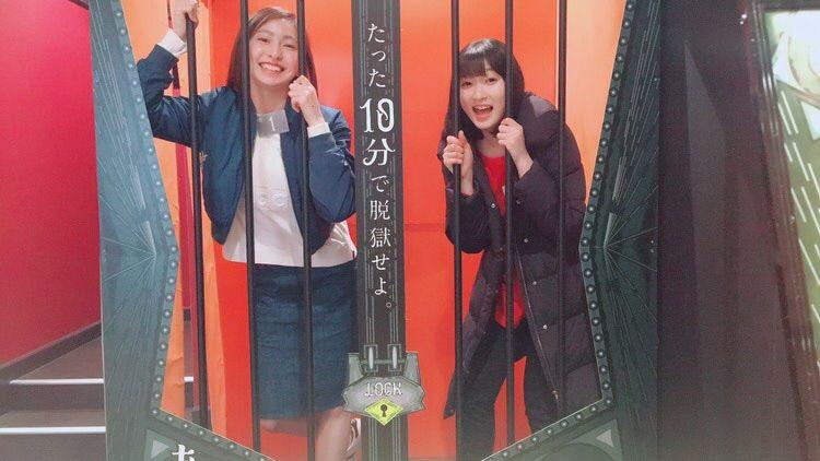 【エンタメ画像】【Juice=Juice】宮本佳林と植村あかりが投獄されたっぽい