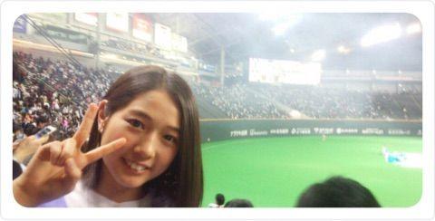 【エンタメ画像】《つばきファクトリー》谷本安美、日本シリーズ第5戦を札幌ドームで観戦 サヨナラ満塁本塁打に感動「選手が自分の役割をきっちり果たして勝てた試合」