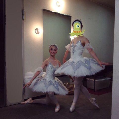 【エンタメ画像】《アンジュルム》相川茉穂ちゃんのバレエスクール時代