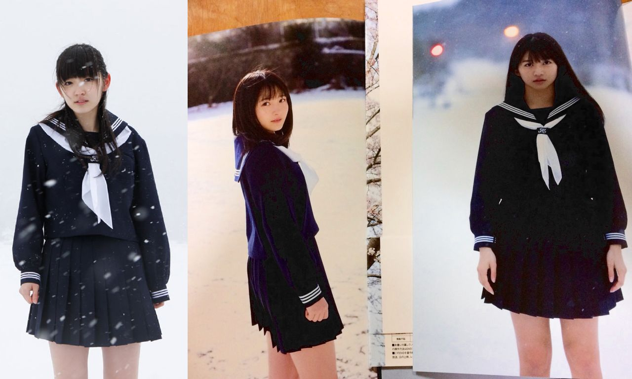 【エンタメ画像】歴代ハロプロエース3人のソロ写真集が似ていると話題に♪牧野真莉愛・森戸知沙希・鈴木愛理