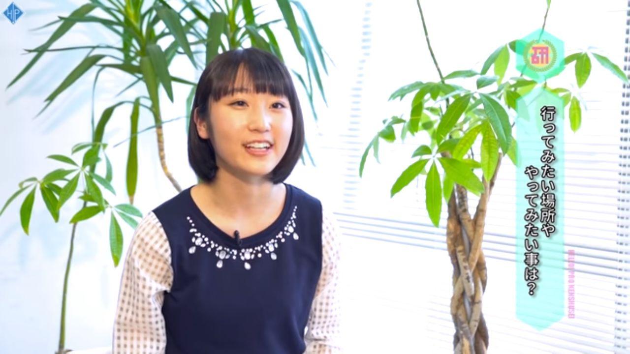 【エンタメ画像】【ハロプロ研修生】段原瑠々さん竹内由恵アナに大変身!!!!!!!
