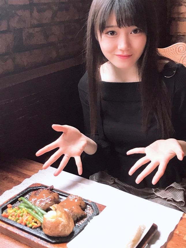 【つばきファクトリー】小野田紗栞の自撮り 指輪してた