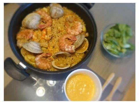 【エンタメ画像】《Juice=Juice》宮本佳林の料理ブログのレベルが上がりすぎ警報発令 ついに本格地中海料理パエリアを作ってみちゃうのお知らせ