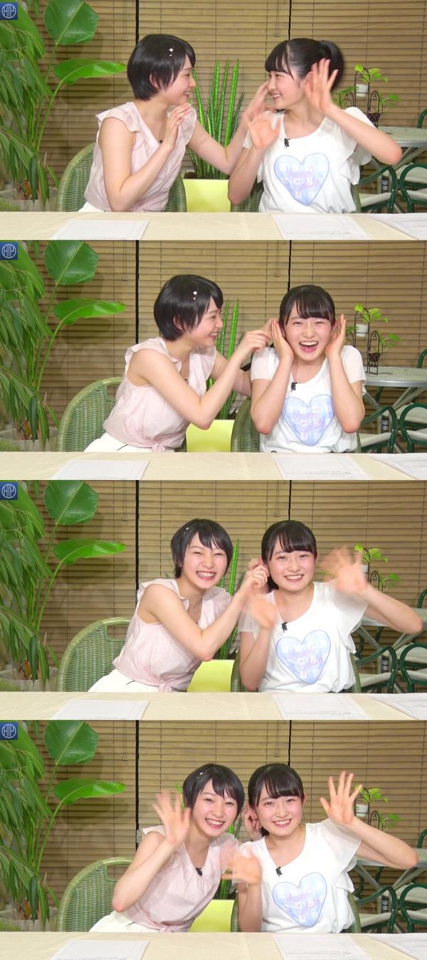 【エンタメ画像】6/10,のハロステの宮本佳林ちゃんはちぃちゃんを楽しませるためにテンション高かったの?