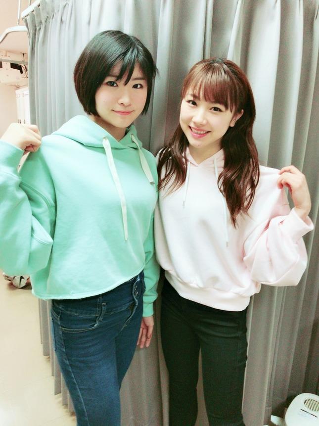 【モーニング娘。'18】石田亜佑美と加賀楓のパーカー姿が可愛い過ぎてTwitterが沸騰中!!!!