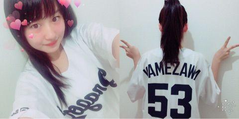 【エンタメ画像】【モーニング娘。'17】野中美希さん、中日ファンになる