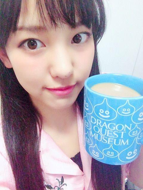 【エンタメ画像】【モーニング娘。'16】水色のスライムにミルクティーの飯窪春菜ちゃんめっちゃかわいい