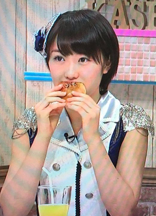 【エンタメ画像】【モーニング娘。'16】あんパンを食べてるだ&#123相互オーラルセックス;の工藤&#3相互オーラルセックス65;ちゃんがとっても可愛い件