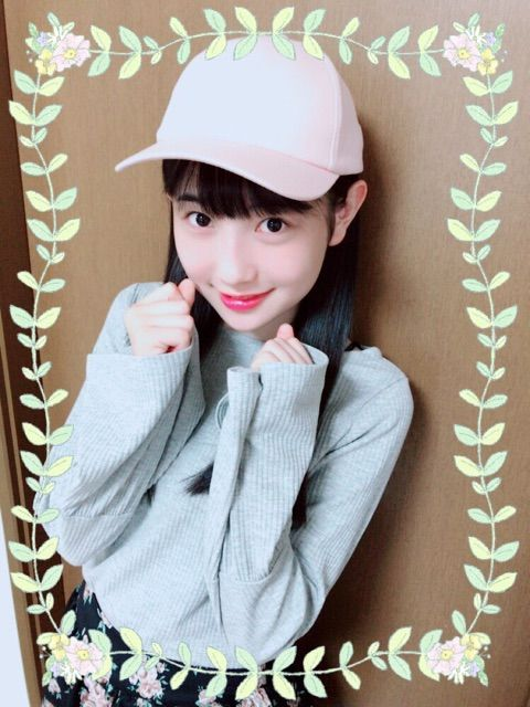 【エンタメ画像】【Juice=Juice】ピンクの帽子をかぶった梁川奈々美が何かとても激カワ件
