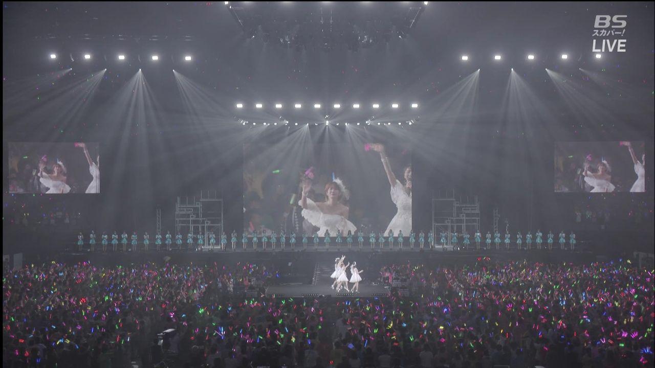 【エンタメ画像】℃-uteの為に並ばされたハロメン★★★★★★